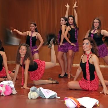 Χριστουγεννιάτικη εκδήλωση σχολή χορού EURODANCE studios